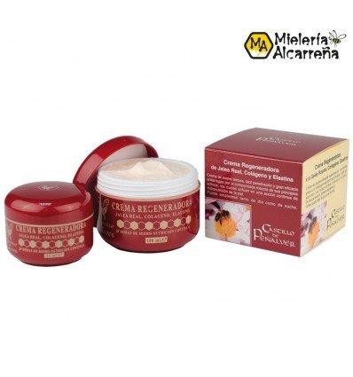 Crema Regeneradora  Antiarrugas  Jalea Real 100 ml.