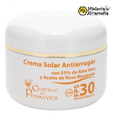 Crema Solar Antiarrugas FPS30