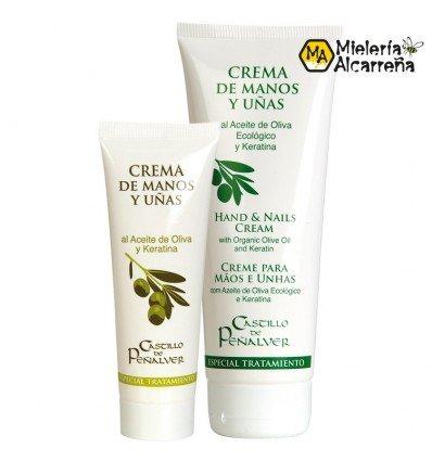 Crema de Manos y Uñas Al aceite de Oliva y Keratina 75 ml.