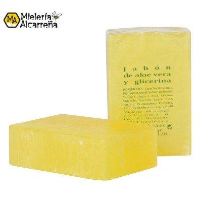 Jabón de aloe vera y glicerina 125gr