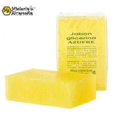 Jabón de azufre y glicerina 125gr