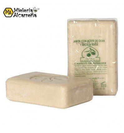 Jabón de aceite de oliva y arcilla 125gr