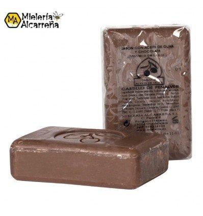 Jabón de aceite de oliva y chocolate 125gr